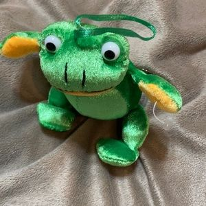 Sweet Shimmer Green Shalom Toy Co Ribbit Frog 🐸💛